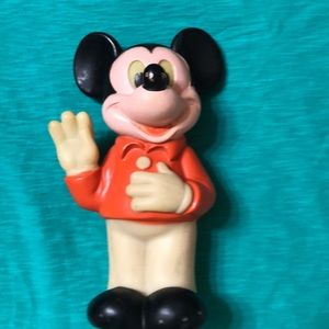 Vintage 1978 rubber Mickey Mouse